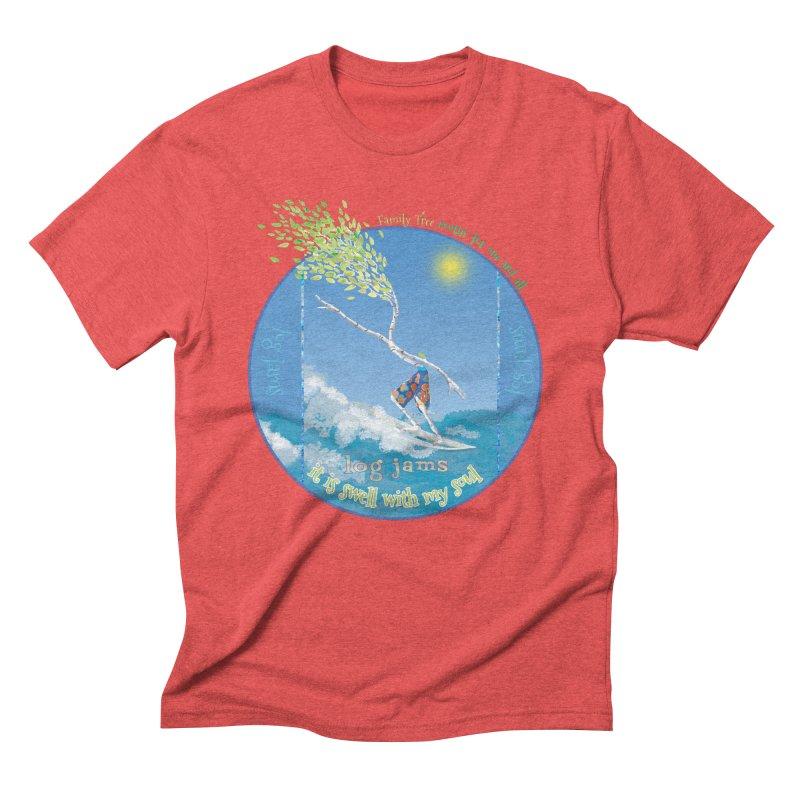 Log Jams Men's T-Shirt by Family Tree Artist Shop