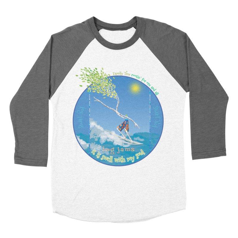 Log Jams Women's Baseball Triblend Longsleeve T-Shirt by Family Tree Artist Shop