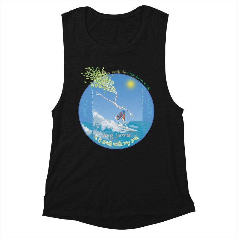 Log Jams Women's Tank by Family Tree Artist Shop