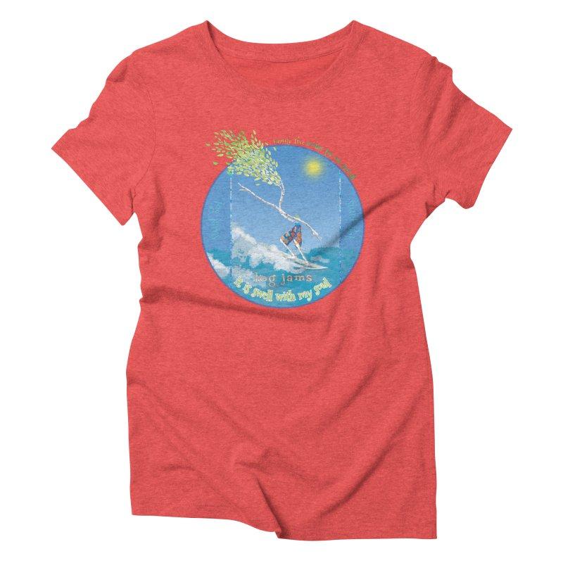 Log Jams Women's T-Shirt by Family Tree Artist Shop