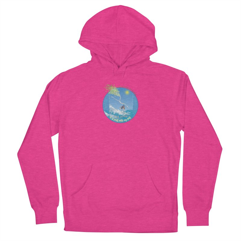 Log Jams mini Women's French Terry Pullover Hoody by Family Tree Artist Shop
