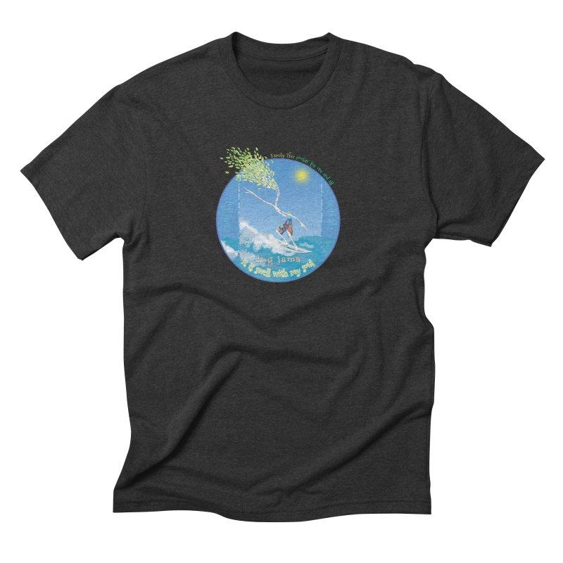 Log Jams mini Men's T-Shirt by Family Tree Artist Shop
