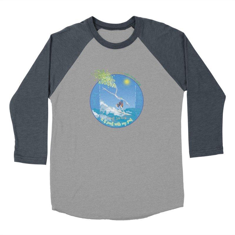Log Jams mini Women's Baseball Triblend Longsleeve T-Shirt by Family Tree Artist Shop