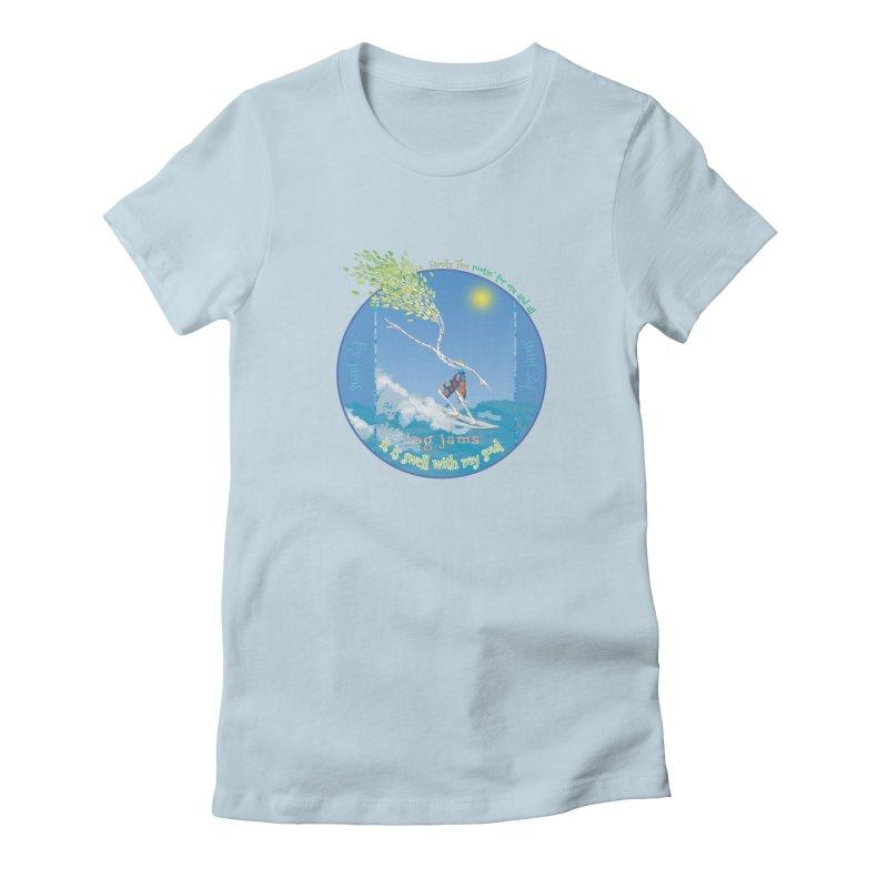 Log Jams mini Women's T-Shirt by Family Tree Artist Shop
