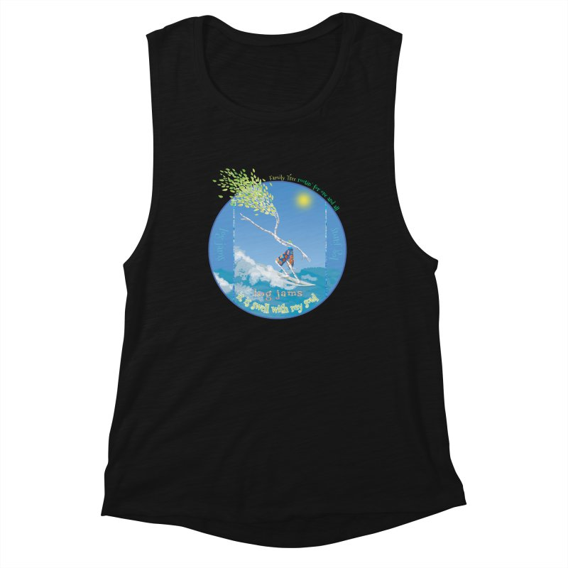 Log Jams mini Women's Tank by Family Tree Artist Shop