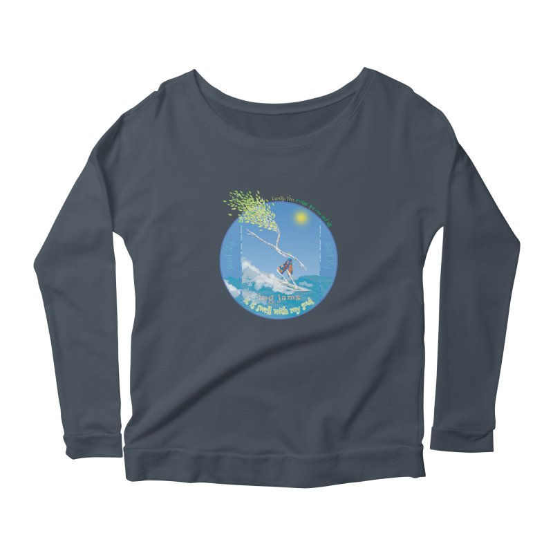 Log Jams mini Women's Longsleeve T-Shirt by Family Tree Artist Shop