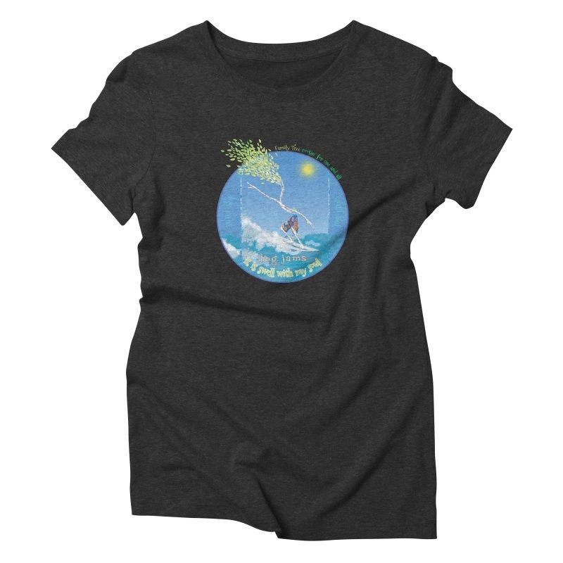 Log Jams mini Women's Triblend T-Shirt by Family Tree Artist Shop
