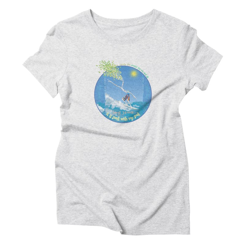 Log Jams mini Women's T-Shirt by Family Tree Artist Shop