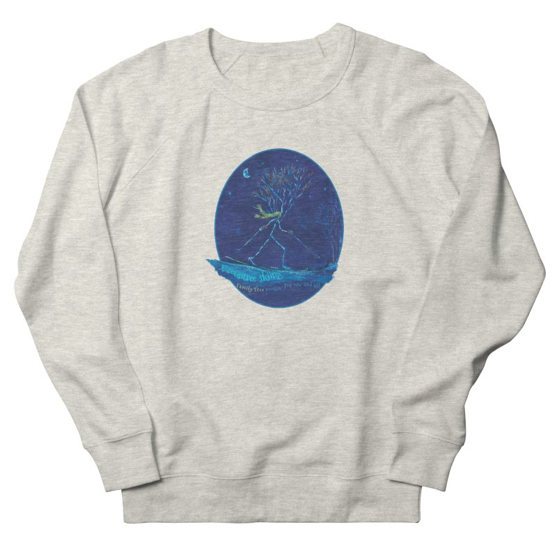 x countree skiing Men's Sweatshirt by Family Tree Artist Shop