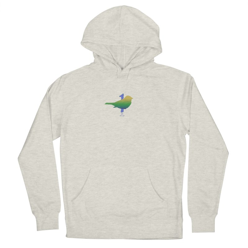 1 sparrow Men's French Terry Pullover Hoody by Family Tree Artist Shop