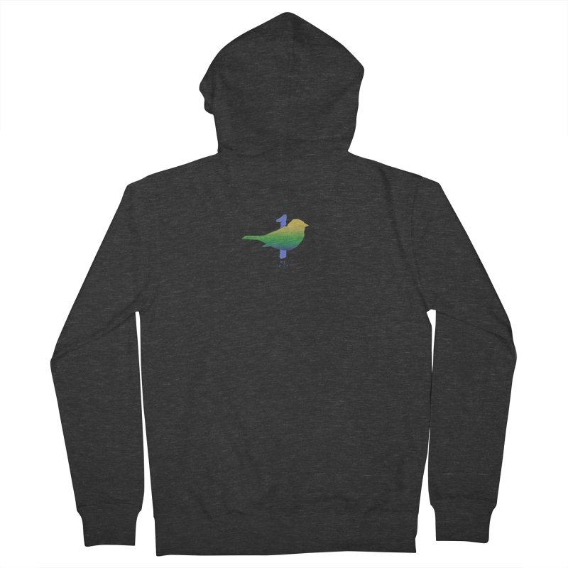 1 sparrow Men's Zip-Up Hoody by Family Tree Artist Shop