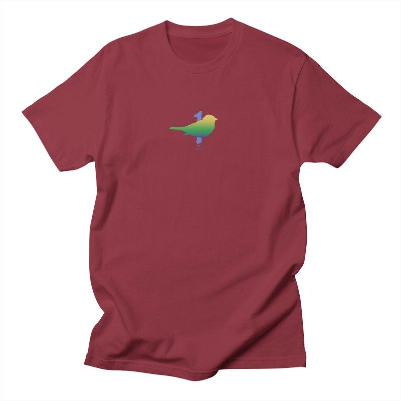 1 sparrow Men's T-Shirt by Family Tree Artist Shop