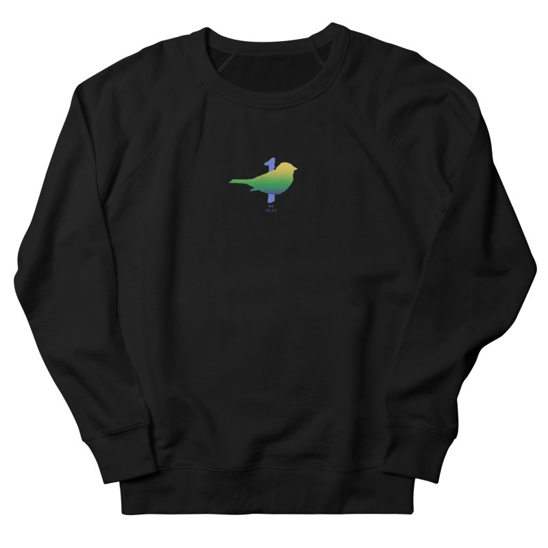 1 sparrow Women's French Terry Sweatshirt by Family Tree Artist Shop