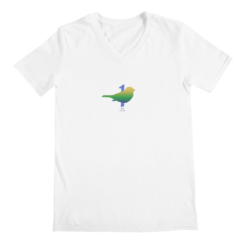 1 sparrow Men's V-Neck by Family Tree Artist Shop