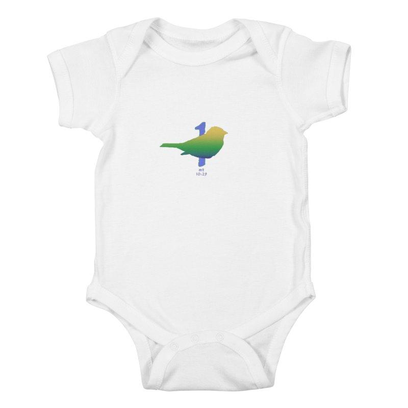 1 sparrow Kids Baby Bodysuit by Family Tree Artist Shop