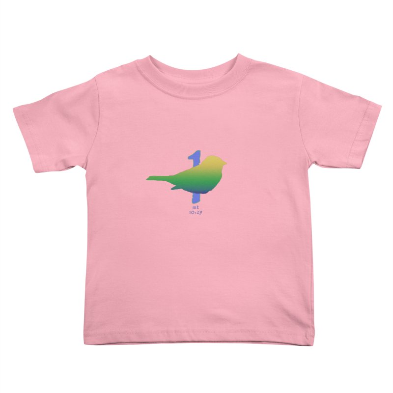 1 sparrow Kids Toddler T-Shirt by Family Tree Artist Shop