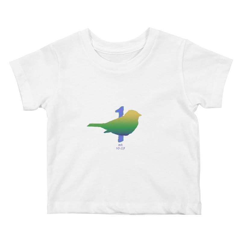 1 sparrow Kids Baby T-Shirt by Family Tree Artist Shop