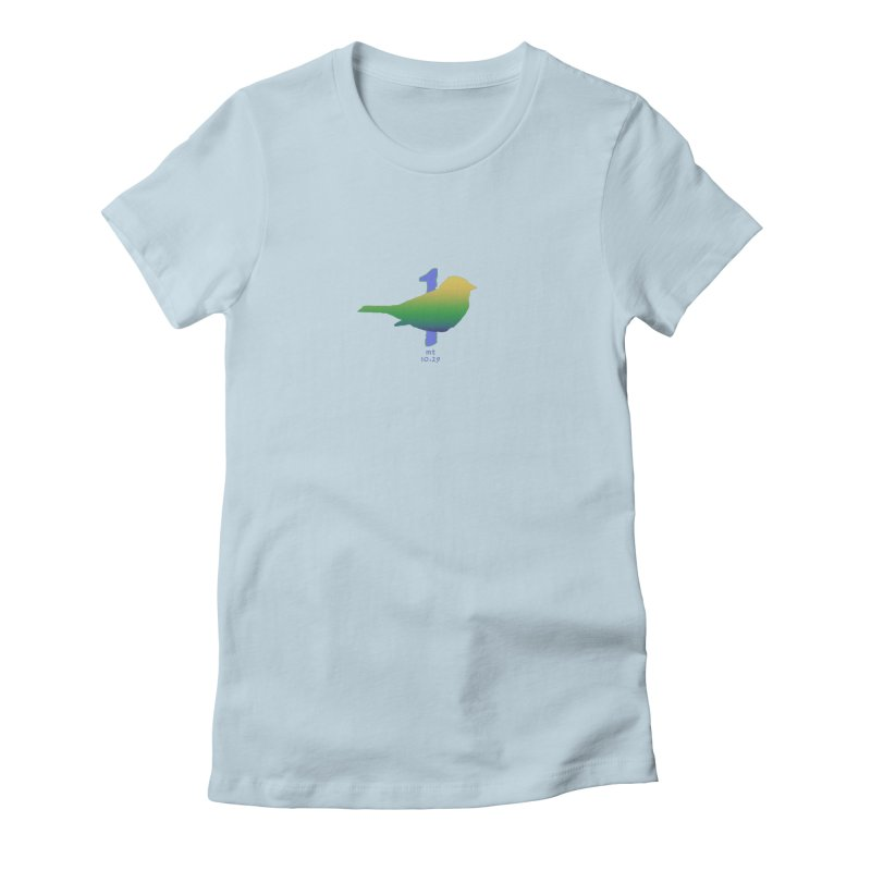 1 sparrow Women's T-Shirt by Family Tree Artist Shop