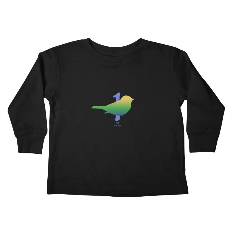1 sparrow Kids Toddler Longsleeve T-Shirt by Family Tree Artist Shop