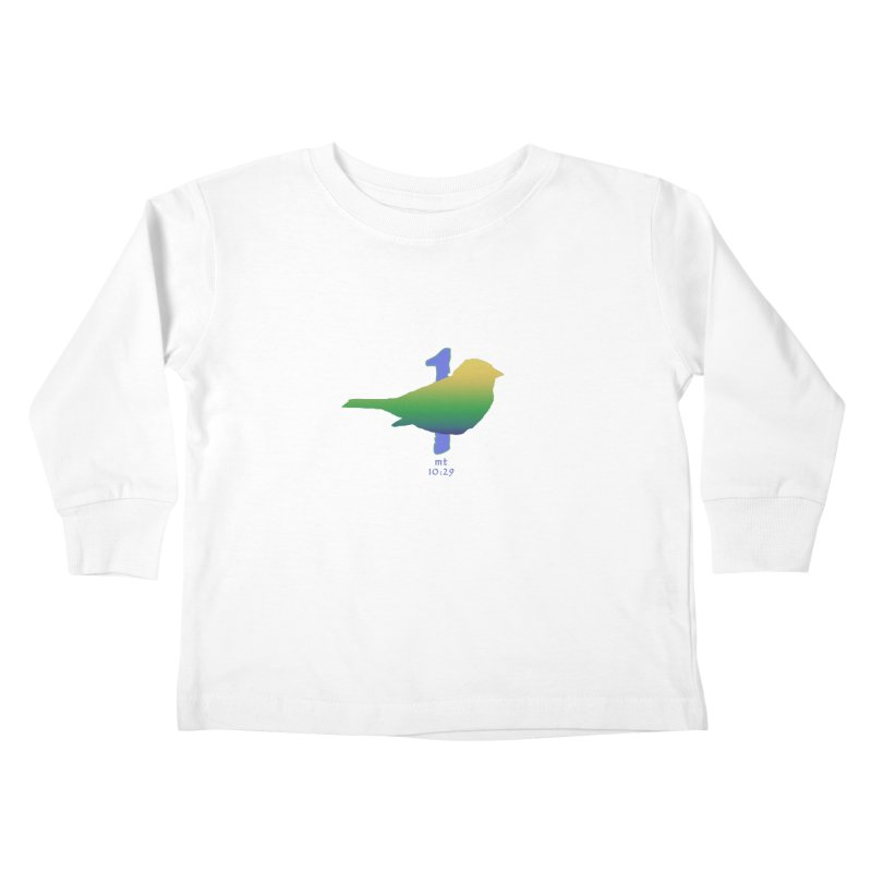 1 sparrow Kids Toddler Longsleeve T-Shirt by Family Tree Artist Shop