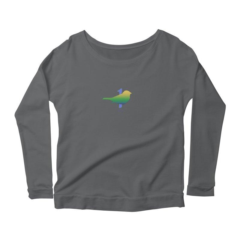 1 sparrow Women's Longsleeve T-Shirt by Family Tree Artist Shop
