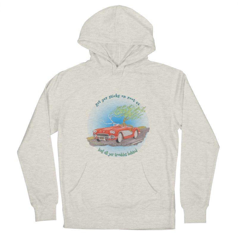 Root 66 Men's French Terry Pullover Hoody by Family Tree Artist Shop