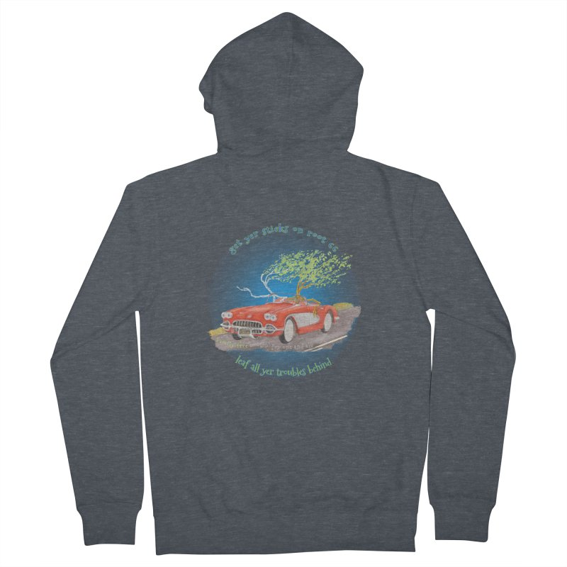 Root 66 Men's French Terry Zip-Up Hoody by Family Tree Artist Shop