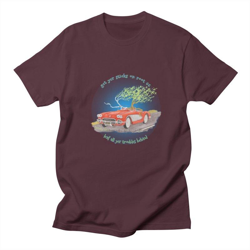 Root 66 Men's Regular T-Shirt by Family Tree Artist Shop