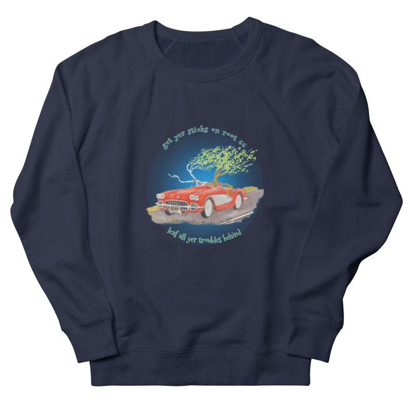 Root 66 Women's French Terry Sweatshirt by Family Tree Artist Shop