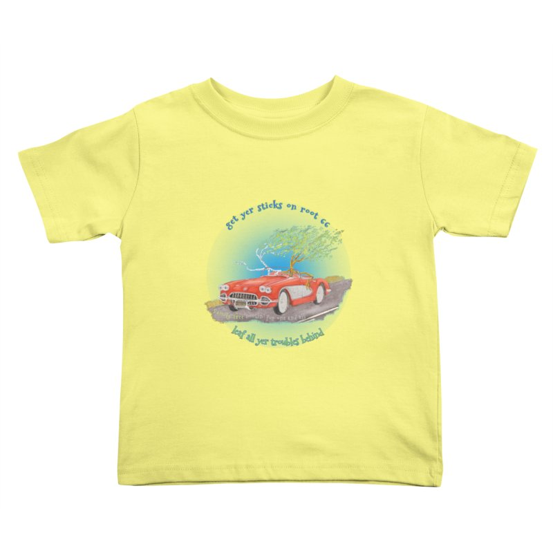 Root 66 Kids Toddler T-Shirt by Family Tree Artist Shop