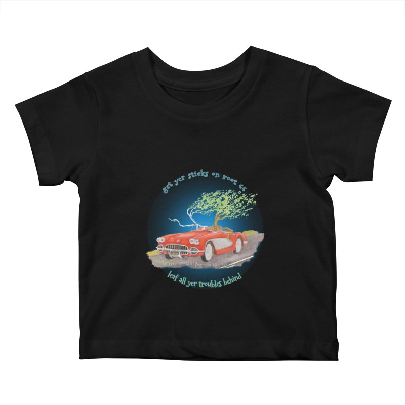 Root 66 Kids Baby T-Shirt by Family Tree Artist Shop