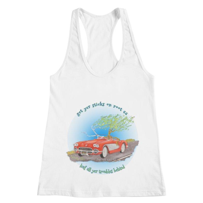 Root 66 Women's Racerback Tank by Family Tree Artist Shop