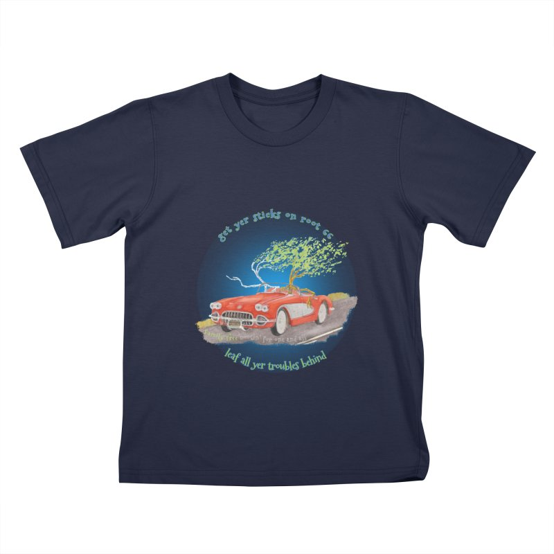 Root 66 Kids T-Shirt by Family Tree Artist Shop