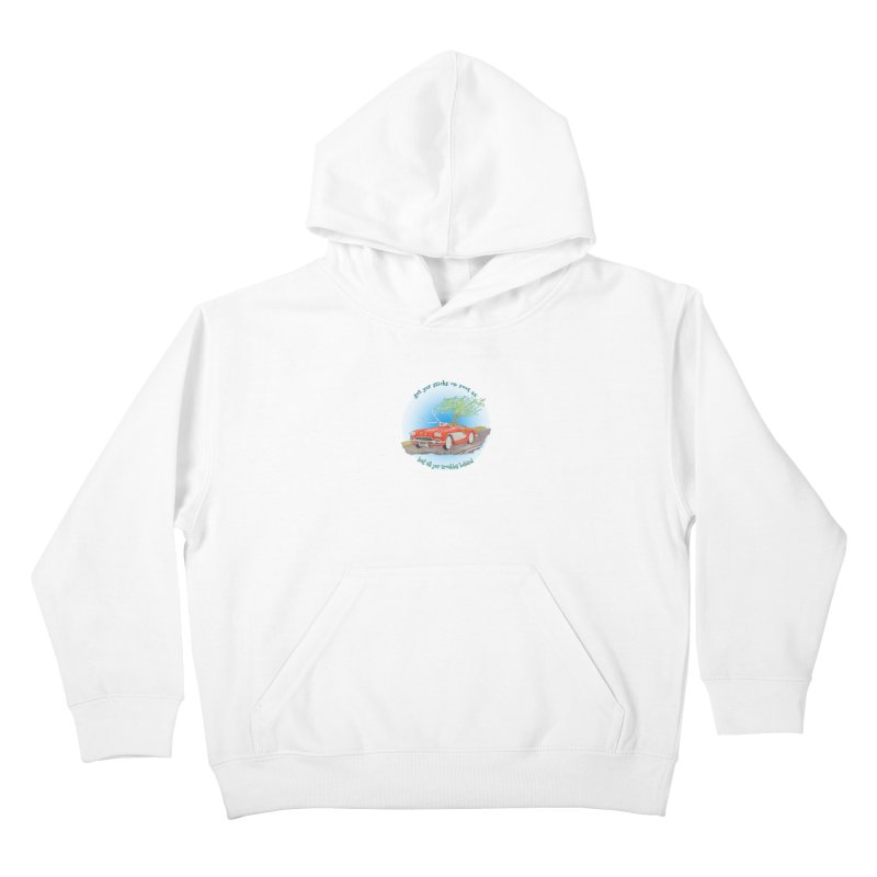 Root 66 Kids Pullover Hoody by Family Tree Artist Shop