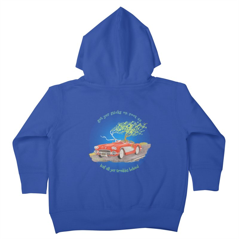 Root 66 Kids Toddler Zip-Up Hoody by Family Tree Artist Shop