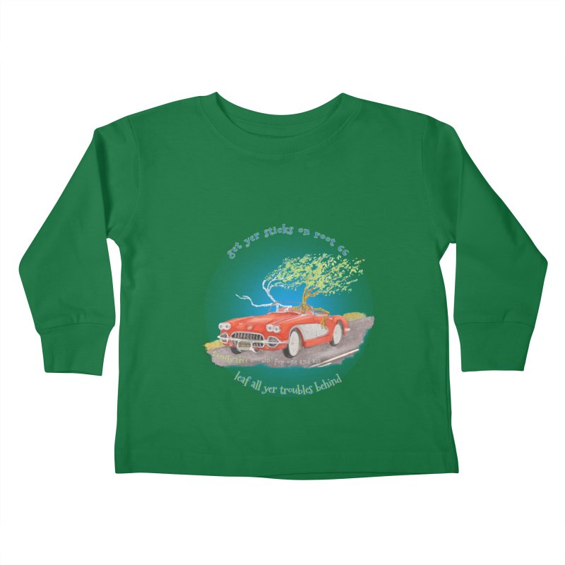 Root 66 Kids Toddler Longsleeve T-Shirt by Family Tree Artist Shop