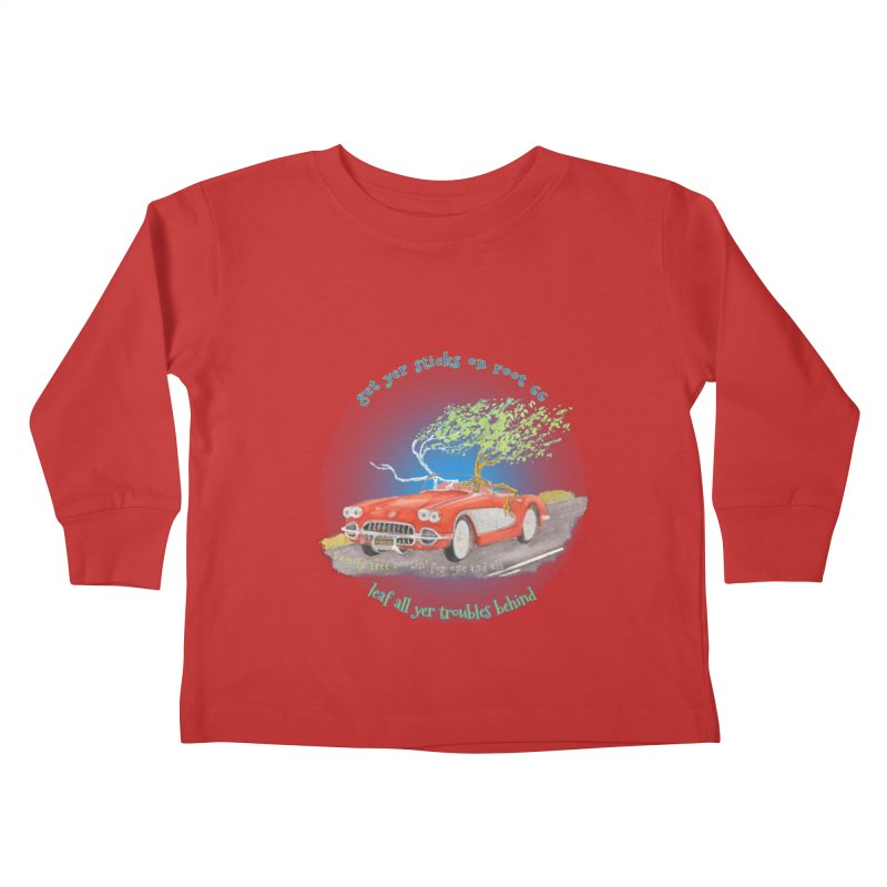 Root 66 Kids Toddler Longsleeve T-Shirt by Family Tree Artist Shop
