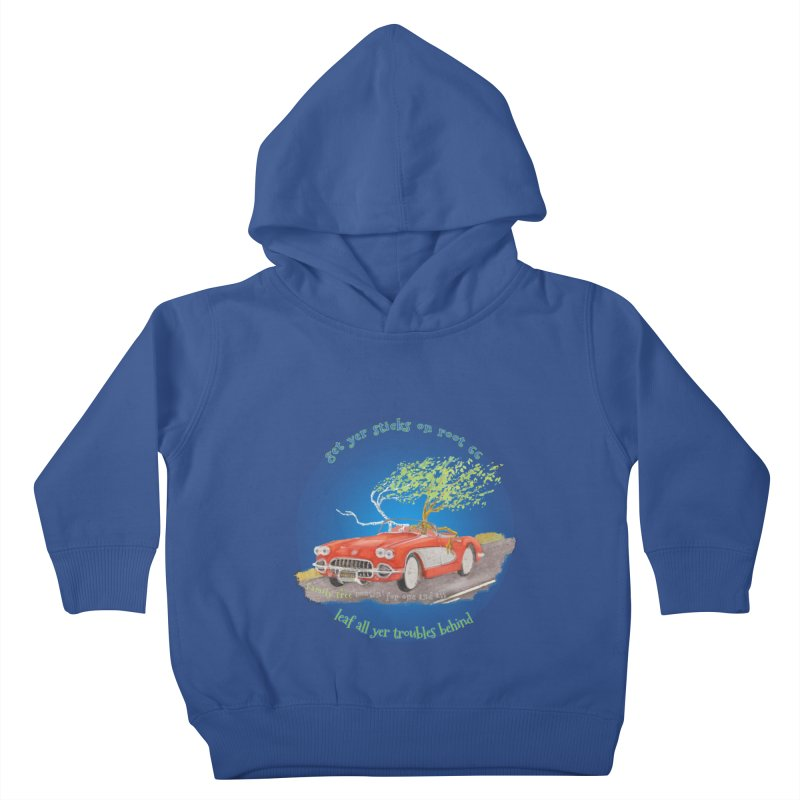 Root 66 Kids Toddler Pullover Hoody by Family Tree Artist Shop