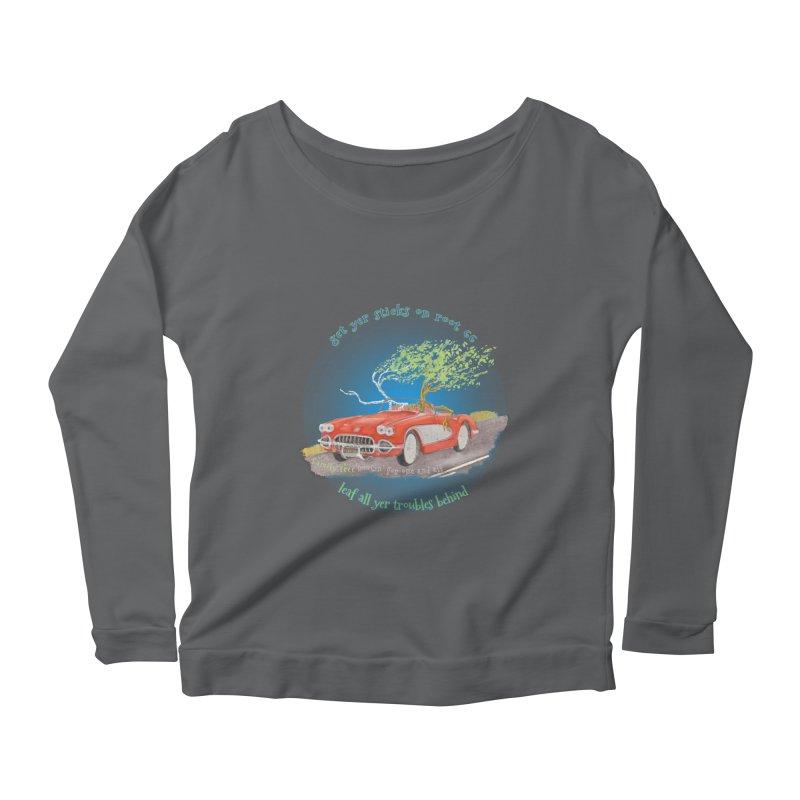 Root 66 Women's Scoop Neck Longsleeve T-Shirt by Family Tree Artist Shop