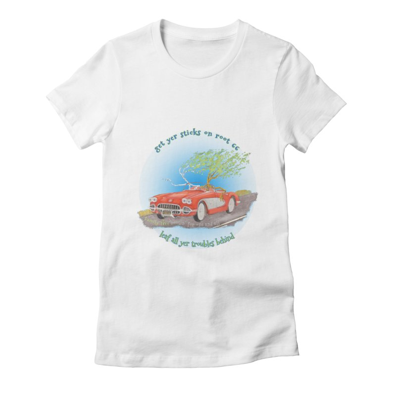 Root 66 Women's T-Shirt by Family Tree Artist Shop