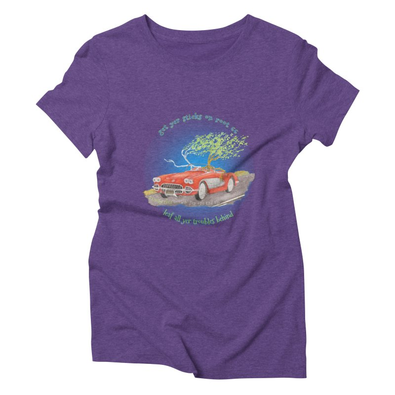 Root 66 Women's Triblend T-Shirt by Family Tree Artist Shop