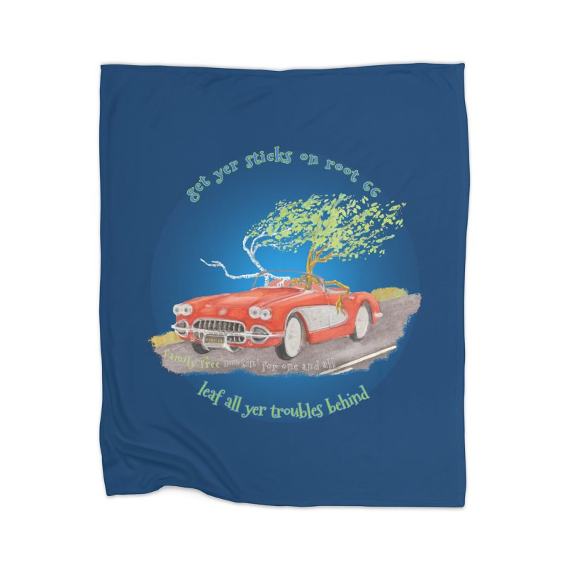 Root 66 Home Blanket by Family Tree Artist Shop