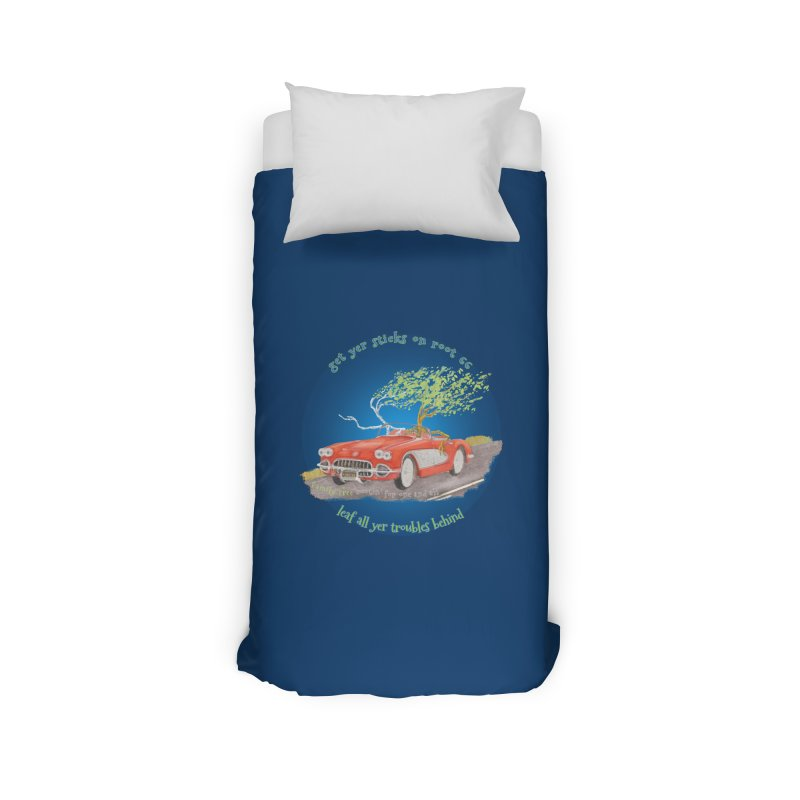 Root 66 Home Duvet by Family Tree Artist Shop