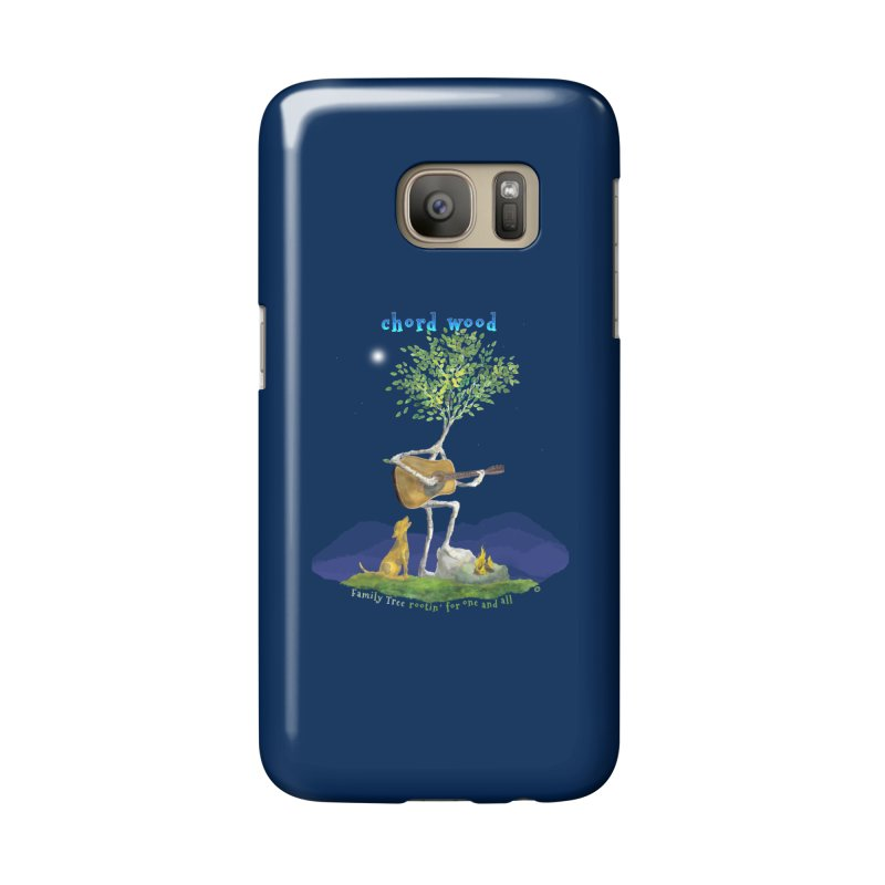 half chord wood Accessories Phone Case by Family Tree Artist Shop