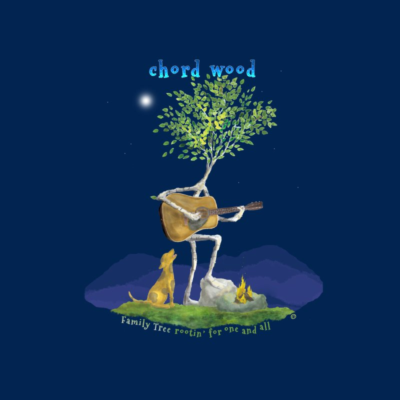 half chord wood Kids Longsleeve T-Shirt by Family Tree Artist Shop