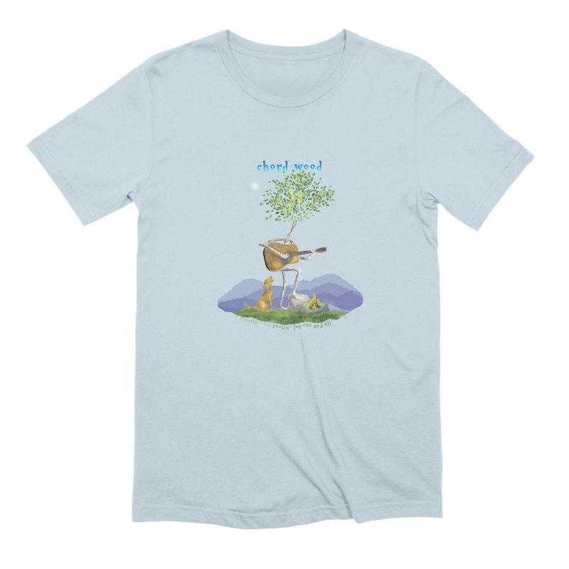 half chord wood Men's T-Shirt by Family Tree Artist Shop