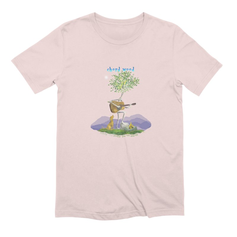 half chord wood Men's Extra Soft T-Shirt by Family Tree Artist Shop