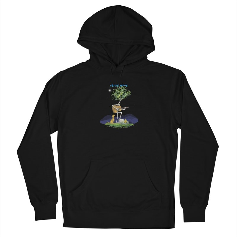 half chord wood Women's French Terry Pullover Hoody by Family Tree Artist Shop
