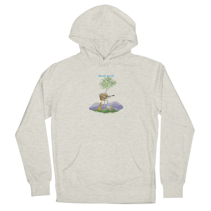 half chord wood Women's Pullover Hoody by Family Tree Artist Shop