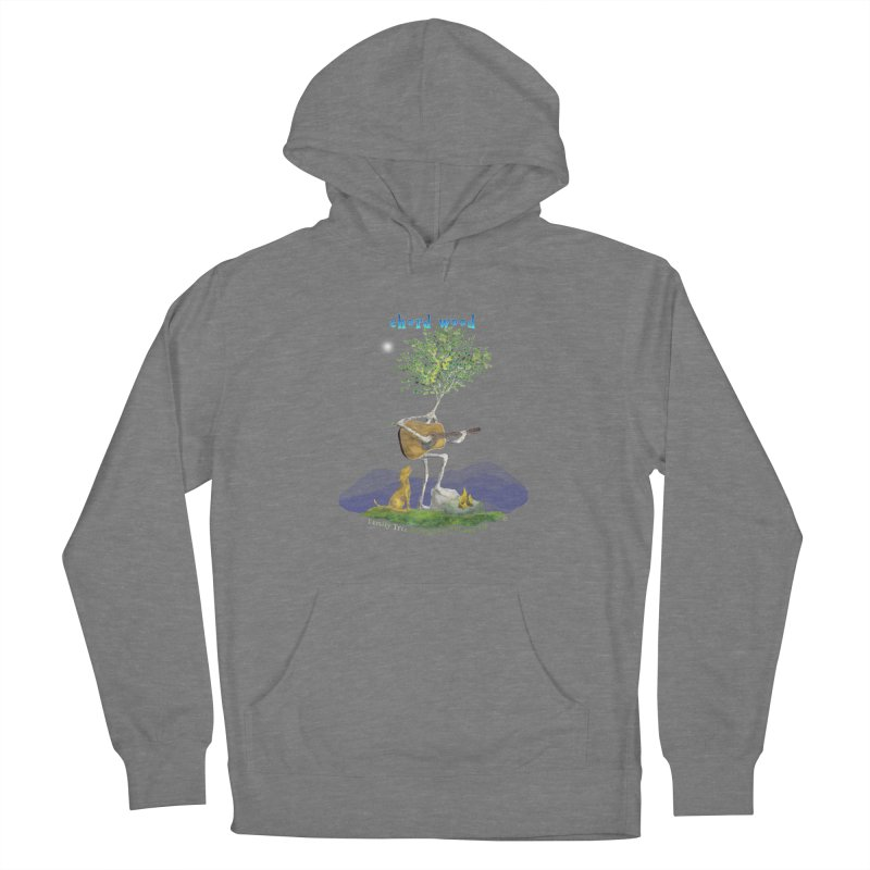 half chord wood Men's French Terry Pullover Hoody by Family Tree Artist Shop